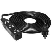 Hydrofarm 3 Outlet Extension Cord, 120V - 12 FT