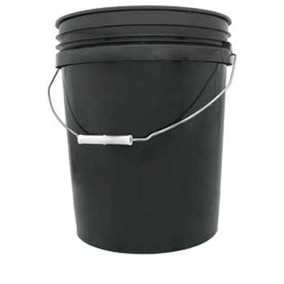 5 Gallon Bucket - Black