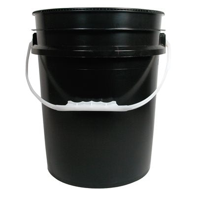 3.5 Gallon Bucket - Black
