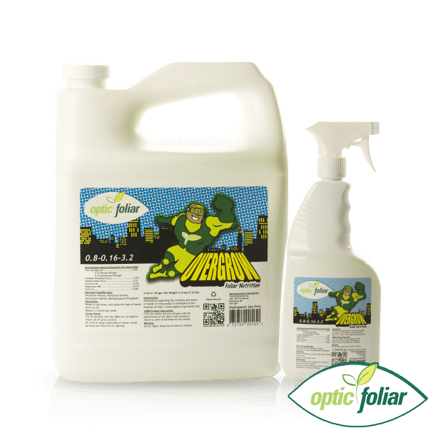 Optic Foliar Overgrow RTU Spray - 1L / 4L