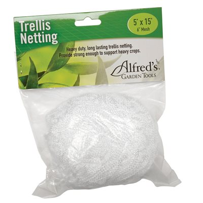 "Alfred Trellis Netting 5' x 15' (6"" Squares)"