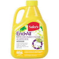 Safer's End All Miticide/ Insecticidal Concentrate - 500ml