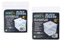 "Grower's Edge 6"" Block Covers - 40 / pack"