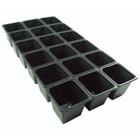 "Plastic Pot 3.5"" Kord 18 Count Sheet Pot"