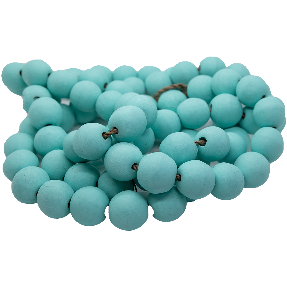 Blue Decorative Beads