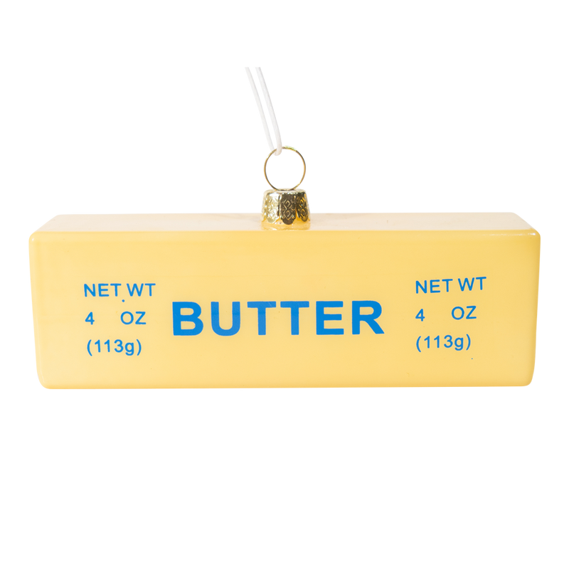 Dwell Chic-Butter Me Up Ornament-Ornament