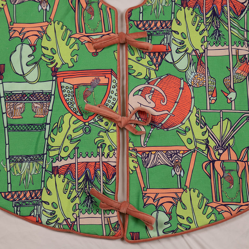 Jungle Themed Tree Skirt