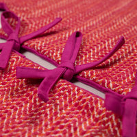 Hot Pink and Orange Mini Tree Skirt
