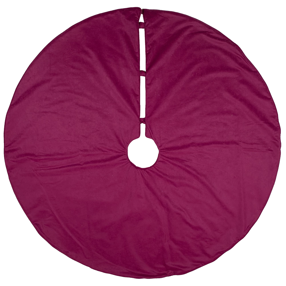 Dwell Chic-Black, Purple and Chartruse Tiger Woven Tree Skirt-Tree Skirt