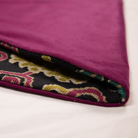 Black, Purple and Chartruse Tiger Woven Tree Skirt