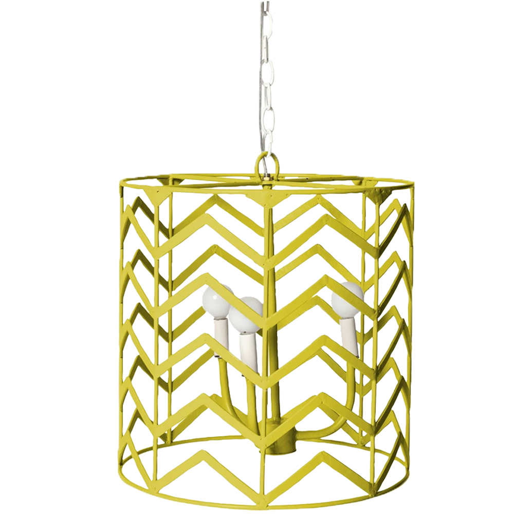 Dwell Chic-Chevron Whimsical Chandelier-lighting