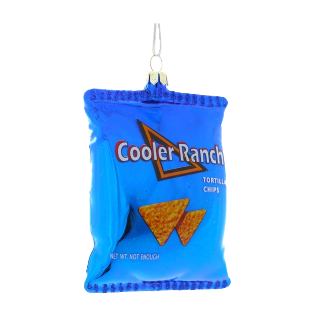 Dwell Chic-Cool Ranch Chips Christmas Ornament-Ornament