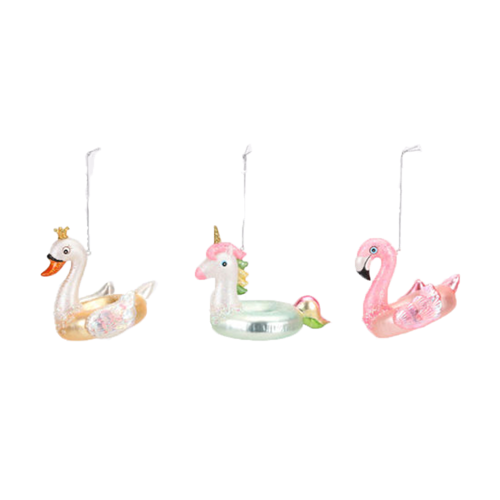Floating Away Animal Ornaments