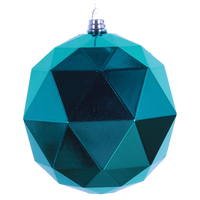 Dwell Chic-Geometric Ball Ornament-Ornament