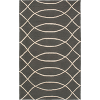 Dwell Chic-Grey and White Geometric Outdoor Rug-Rug