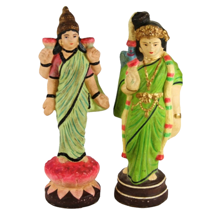Indian Royalty Figurine Set