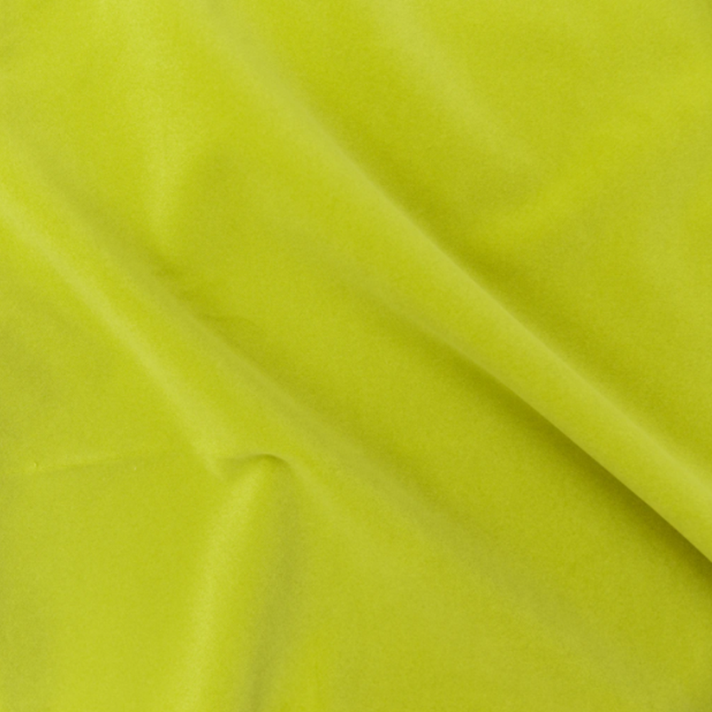 Dwell Chic-Indoor/Outdoor Chartreuse Velvet Pillow-Pillow