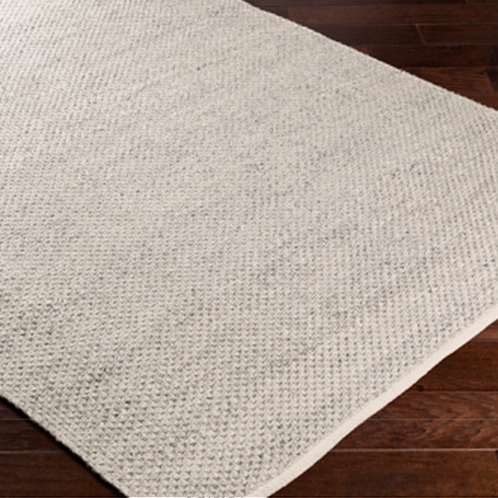 Light Grey Woven Outdoor Rug