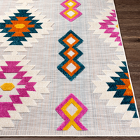 Dwell Chic-Multi-Colored Tufted Indoor/Outdoor Rug-Rug