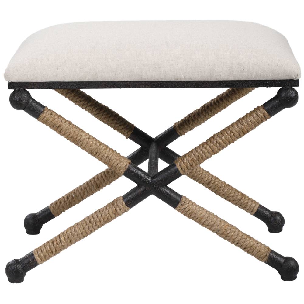 Dwell Chic-Natural Rope Bench Pick-Up in Store Only-Bench