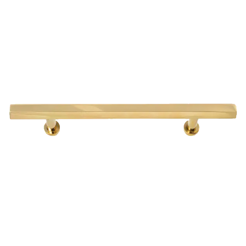 Octagonal Brass Bar Handles