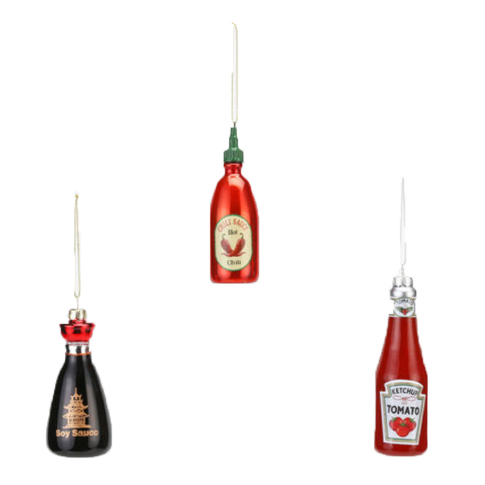 Dwell Chic-Pass Me the Sauce Ornaments-Ornament