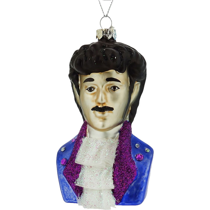 Dwell Chic-Purple Rain Prince Ornament-Ornament