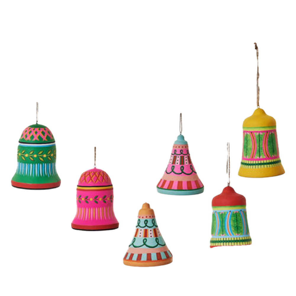 Dwell Chic-Ring the Colorful Bell Ornament-Ornament