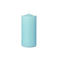 Colorful Pillar Candles Set of 6-Candle-Dwell Chic