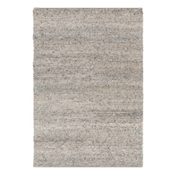 Dwell Chic-Silver Grey Wool Rug-Rug