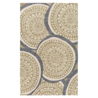 Dwell Chic-Swirly Moss Area Rug-Rug