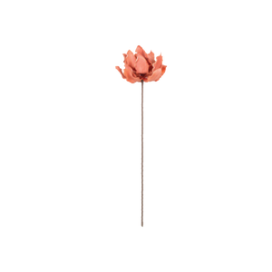 Tall Peach Floral Vase Filler