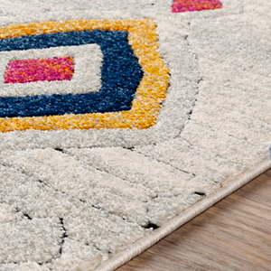 Whimsy Multi-Colored Geometric Rug