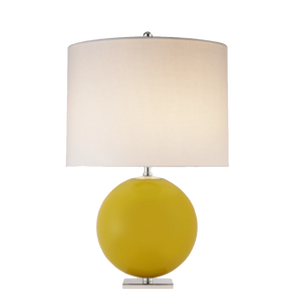Yellow Sphere Table Lamp