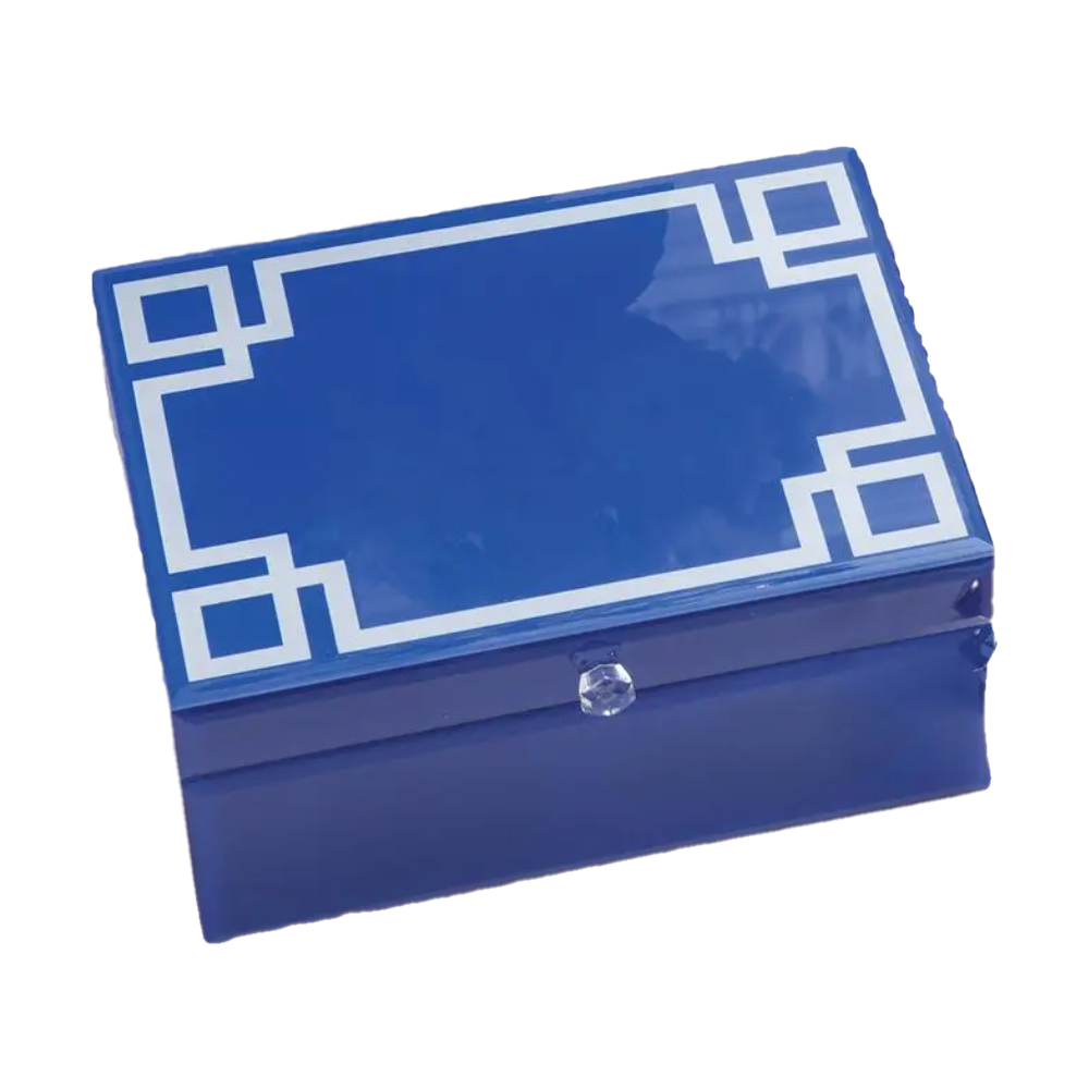 Greek Key Jewelry Box-Box-Dwell Chic
