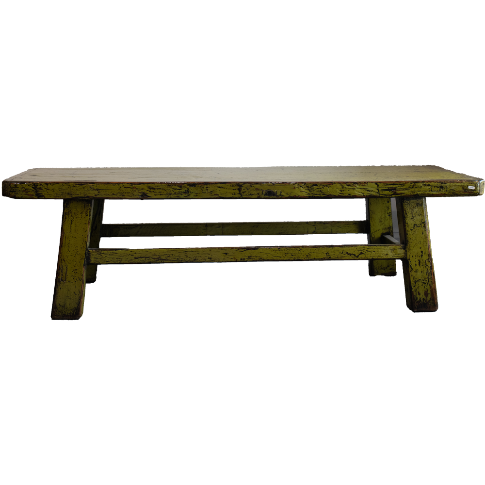 Antique Inspired Green Bench- Pick up in Store Only