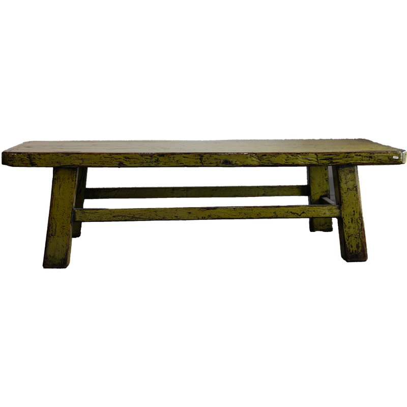 Dwell Chic-Antique Inspired Green Bench- Pick up in Store Only-Furniture