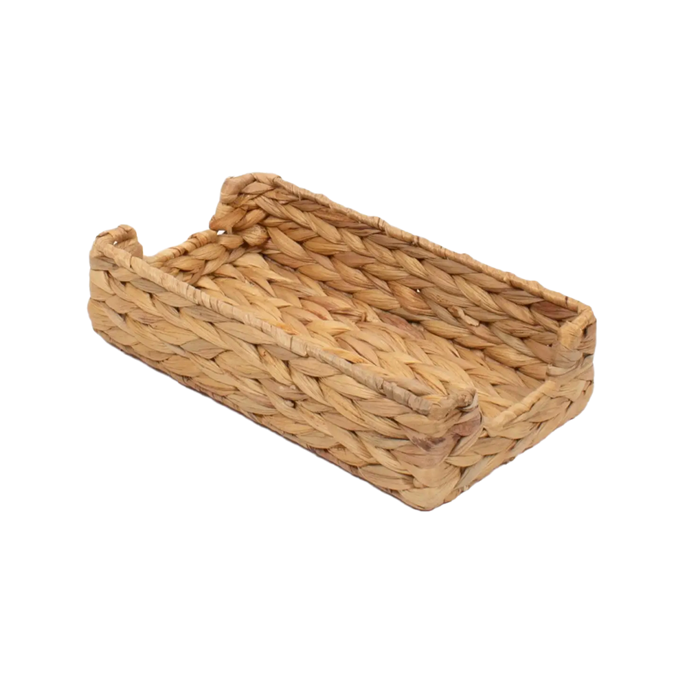 Guest Towel Tray - Natural Woven-Tray-Dwell Chic