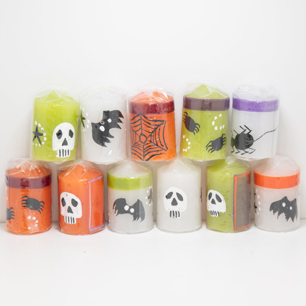 Dwell Chic-Boo! Scared You Halloween Votive Candles-Candle