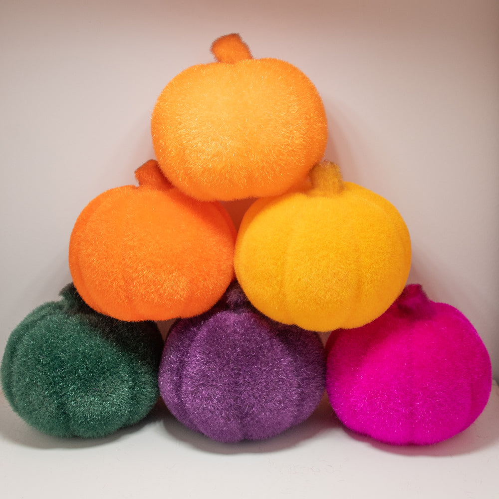 Dwell Chic-Large Multi-Color Felt Pumpkins-Accessories