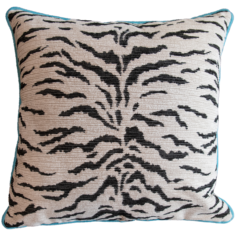 Dwell Chic-White Tiger Pillow-Pillow