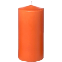 Colorful Pillar Candles Set of 3