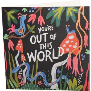 Dwell Chic-Out of this World Card-Card