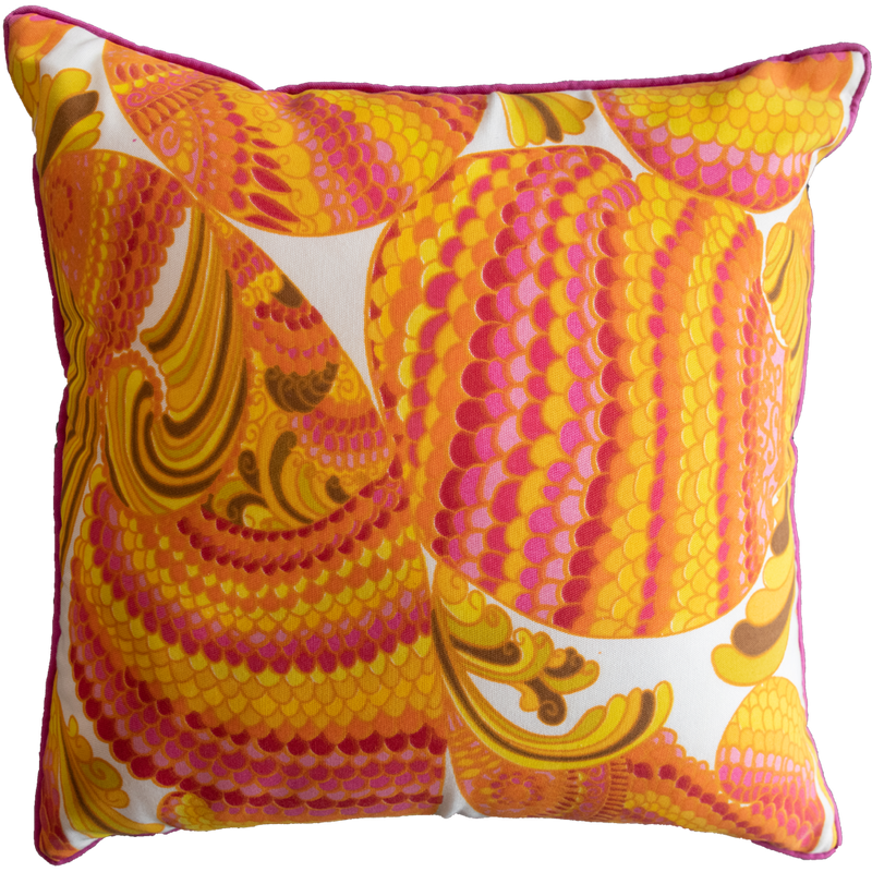 Dwell Chic-Pink, Orange and Yellow Deco Pillow-Pillow