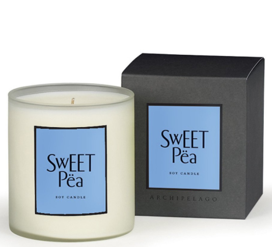 Sweet Pea Soy Scented Candle 14 oz.