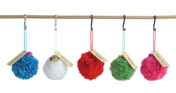 Dwell Chic-Round Pom Pom Ornament-Accessories