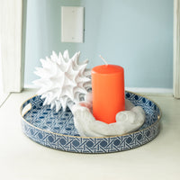Dwell Chic-Blue Cane Tray-Picture Frame