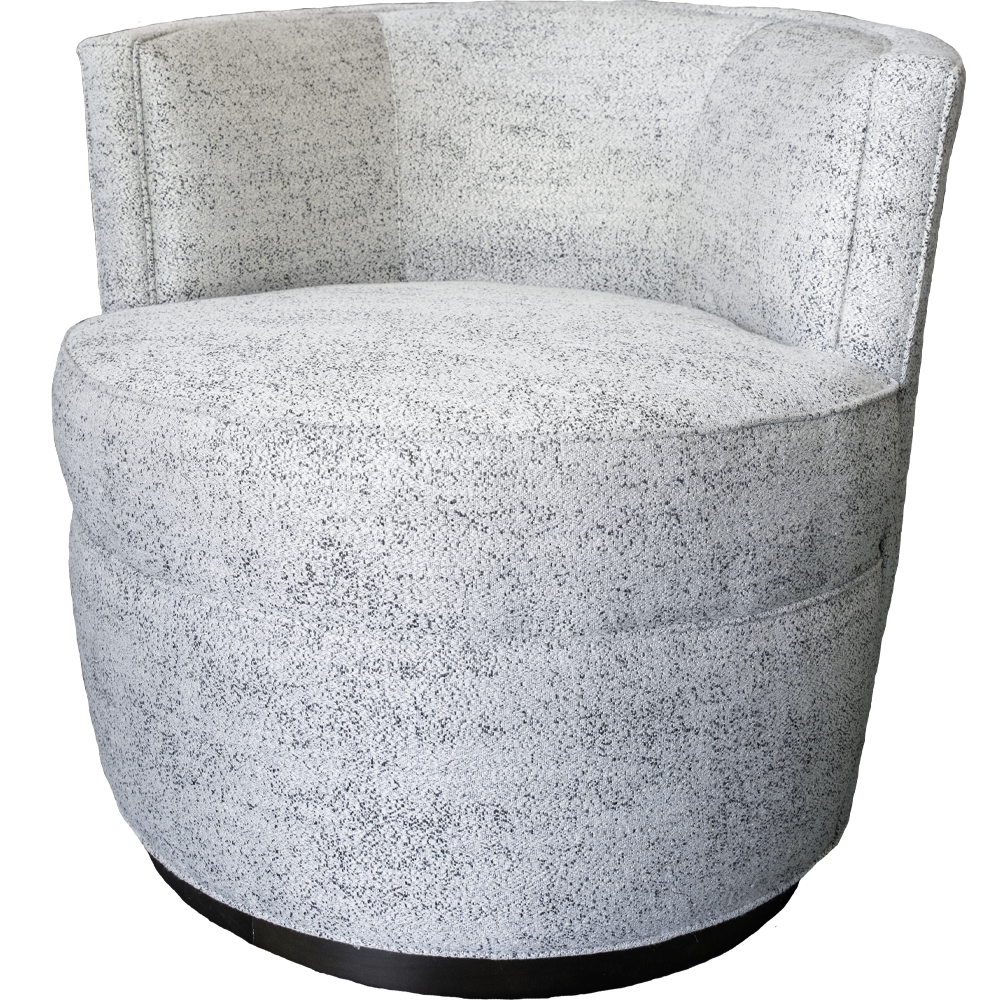 Speckled Swivel Chair- Pick Up in Store Only