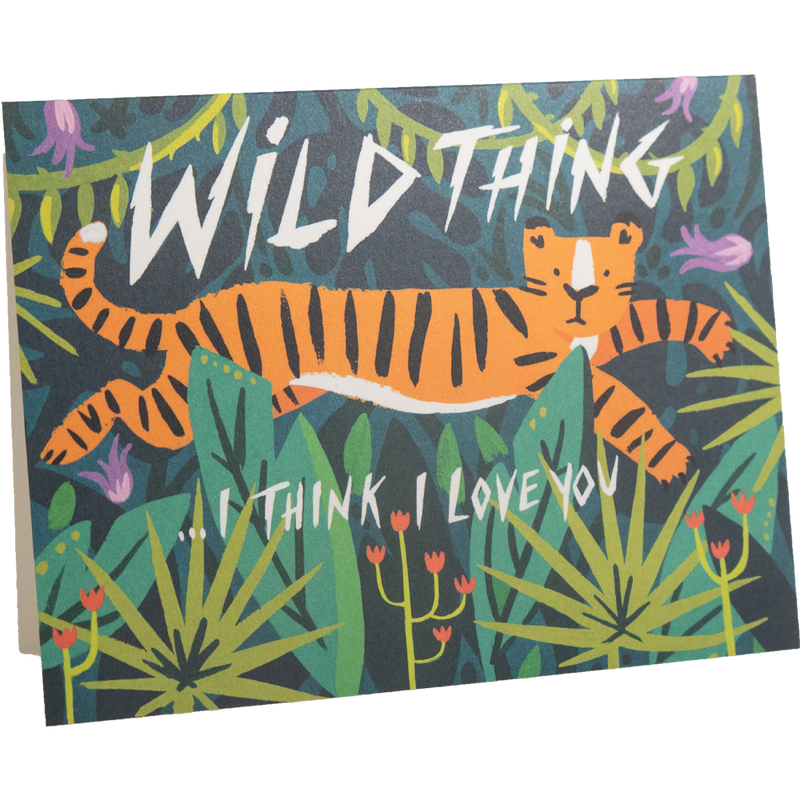 Dwell Chic-Wild Thing Card-Card
