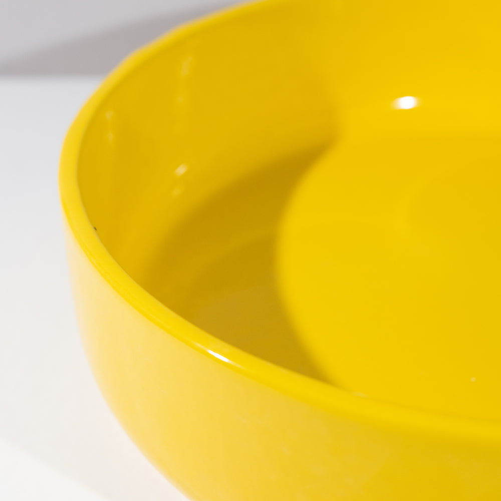 Sunny And Bright Yellow Bowl